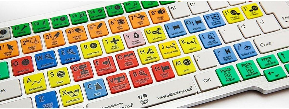 Editors Keys Dedicated Keyboard for Presonus Studio One PC Shortcut Keyboard