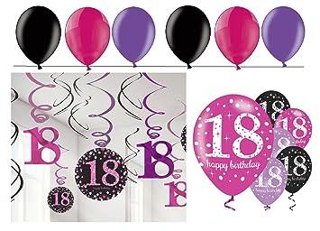 celebran fijo para 18 cumpleaños I 24 piezas techo colgador ...