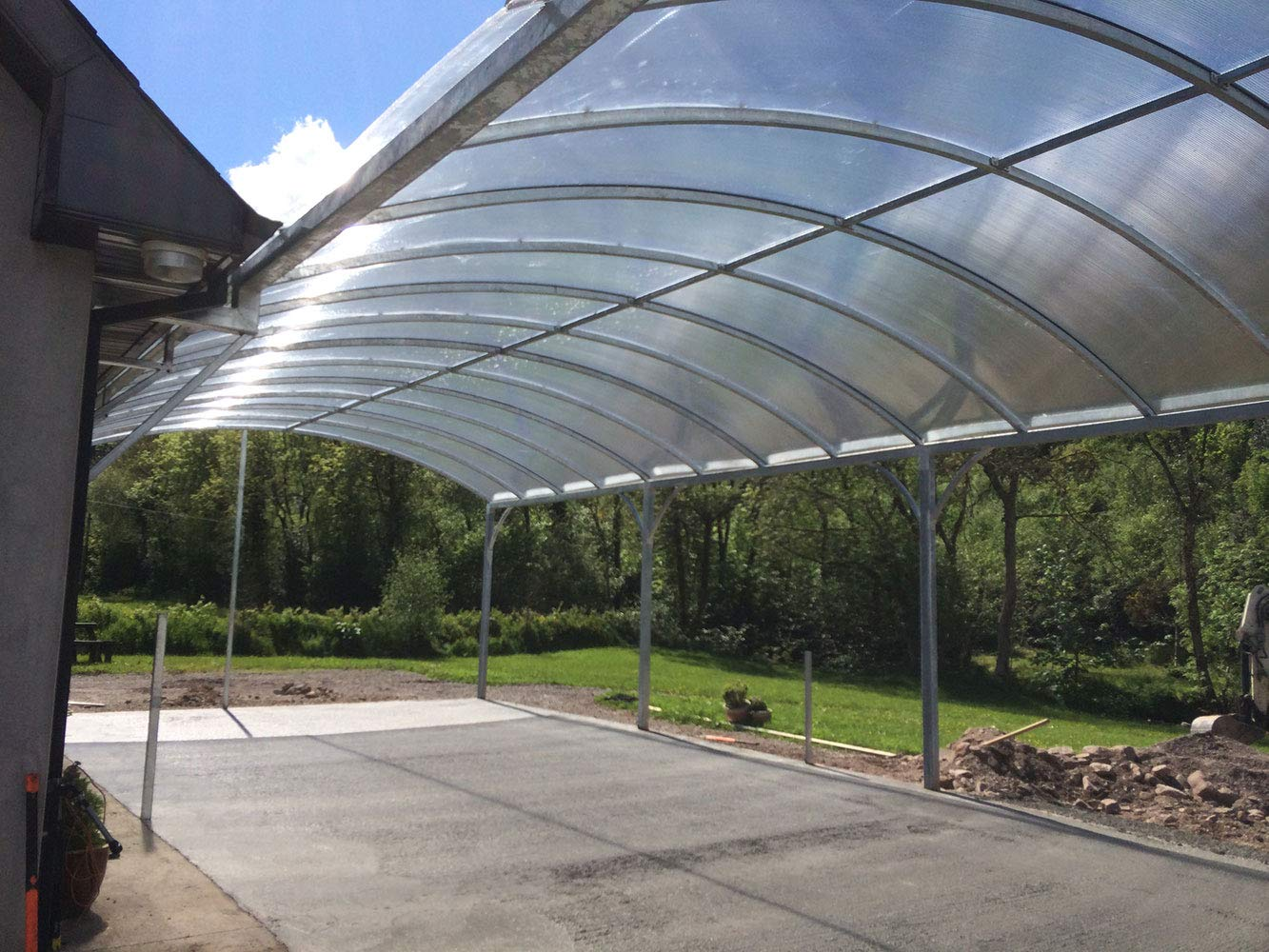Ecover 5.5Mil Greenhouse Plastic Cover Polyethylene Clear Film for Garden Plant Cover, 12 x 50ft by Ecover (Image #6)