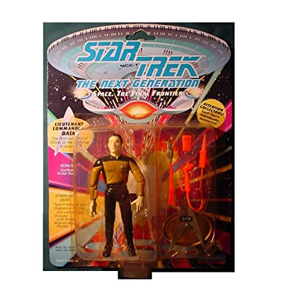 STAR TREK LT Commander Data 1992: Toys & Games