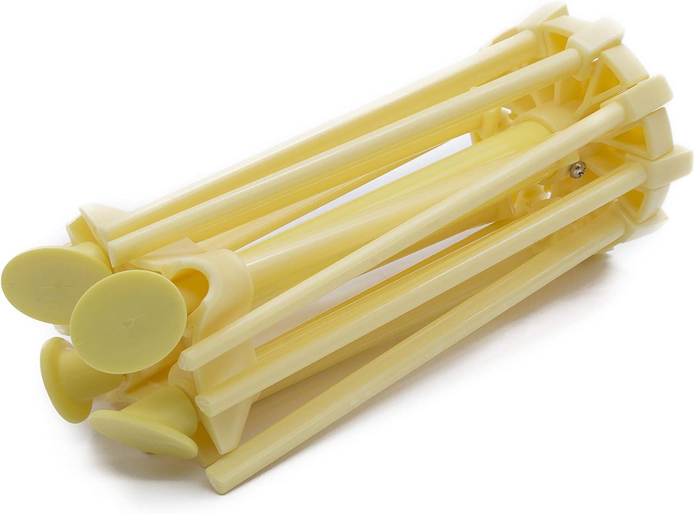 Yellow Anzirose Pasta Drying Rack Collapsible Pasta Spaghetti Noodles Dryer Holder Hanging Rack