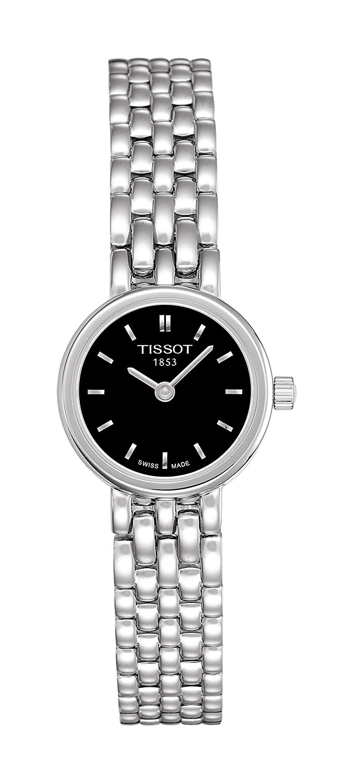 [ティソ] Tissot腕時計Lovelyクォーツブラックダイヤルブレスレットt0580091105100レディース[正規輸入品] B06WVB18H7