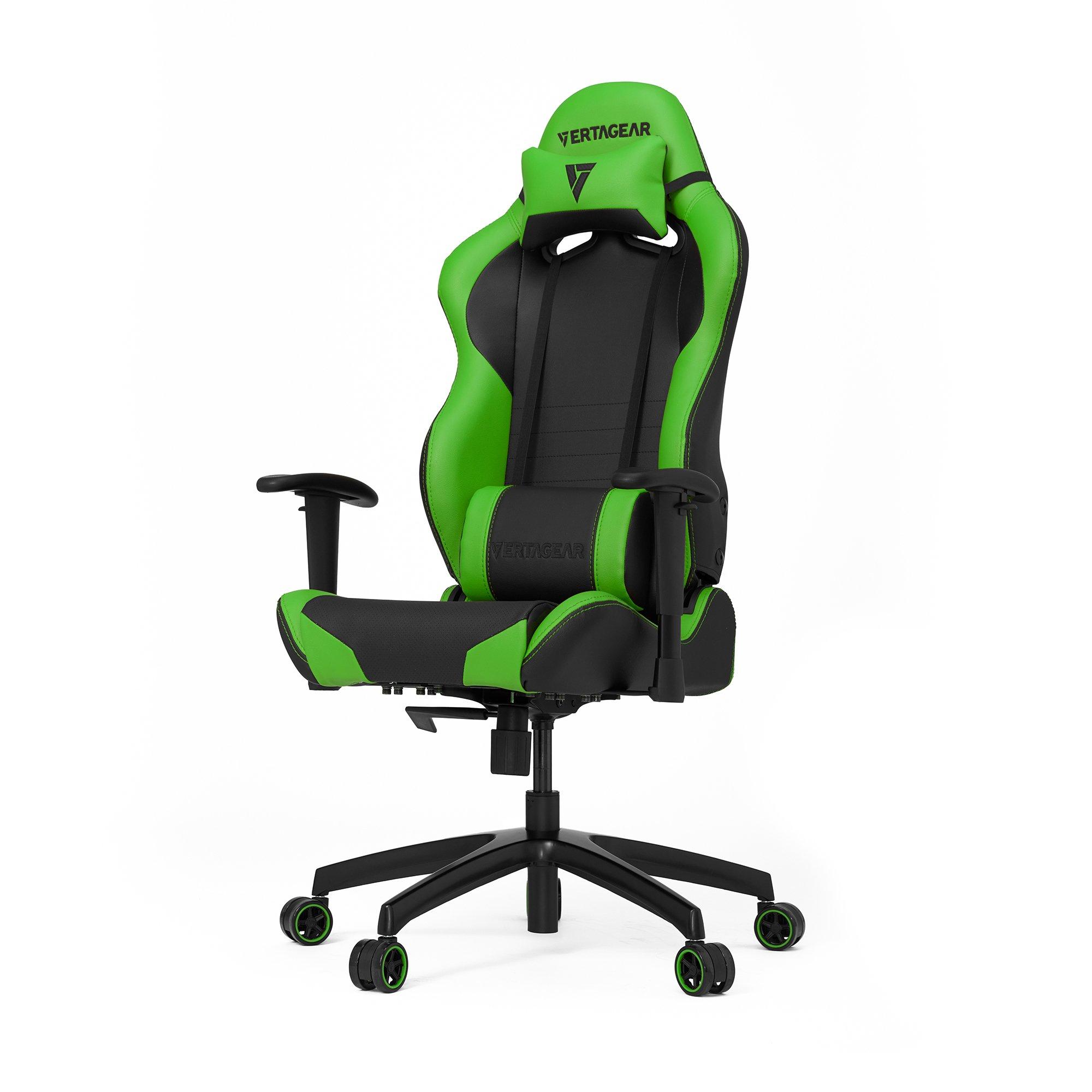 VERTAGEAR S-Line SL2000 Gaming Chair Black/Green Edition by VERTAGEAR
