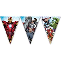 Procos guirnalda de banderines triangulares Avengers Mighty, Multicolor