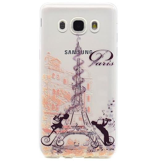 2 opinioni per Aomoli Custodia Samsung Galaxy J7 (2016) J710 Cover Trasparente Silicone TPU