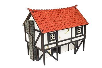 WWG Medieval Town - Casa de Panadero (Pintada/Sin Pintar ...