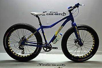FAT Bicicleta BIKE DEMON MTB Evolución de Aluminio 26 X 4,0 Frenos ...