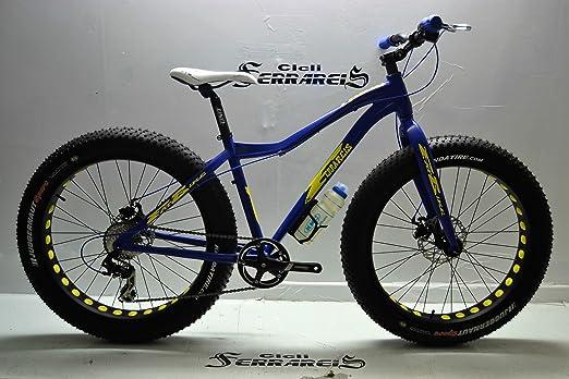FAT Bicicleta BIKE DEMON MTB Evolución de Aluminio 26 X 4,0 Frenos Hidráulicos: Amazon.es: Deportes y aire libre