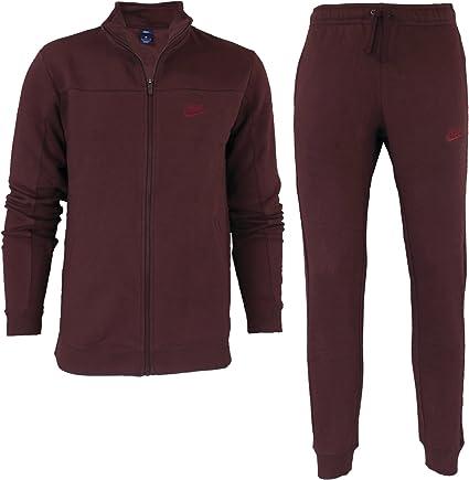 Nike Men Sportswear Forro Polar Tracksuit 861776 619 – Chándal para Hombre/ Chándal/Sport Traje Rojo, Todo el año, Hombre, Color Rojo, tamaño Small: Amazon.es: Deportes y aire libre