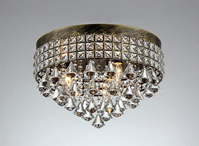French Empire Antique Bronze 5 light Crystal Chandelier Ceiling Pendant  Lighting Fixture Lamp for dining room - French Empire Antique Bronze 5 Light Crystal Chandelier Ceiling