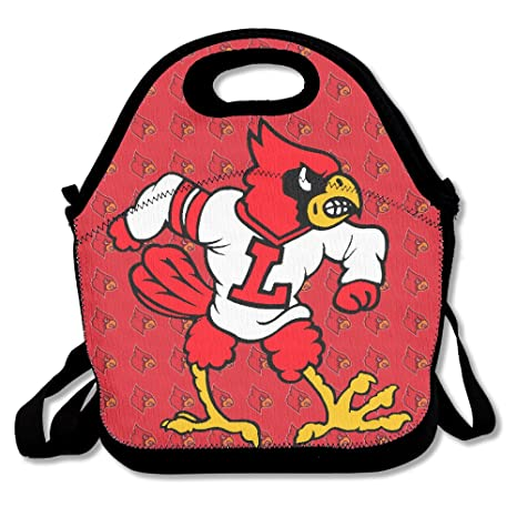 Universidad de Louisville Cardinals almuerzo Tote Bag