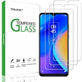 (3 Pack) Beukei Compatible for TCL 20 SE Screen Protector Tempered Glass,Touch Sensitive,Case Friendly, 9H Hardness