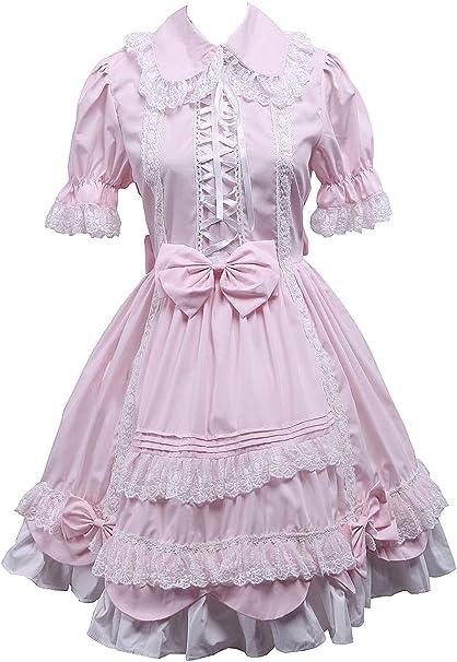 Antaina Vestido de Coser de Lolita Victoriana Retro con Encaje de ...