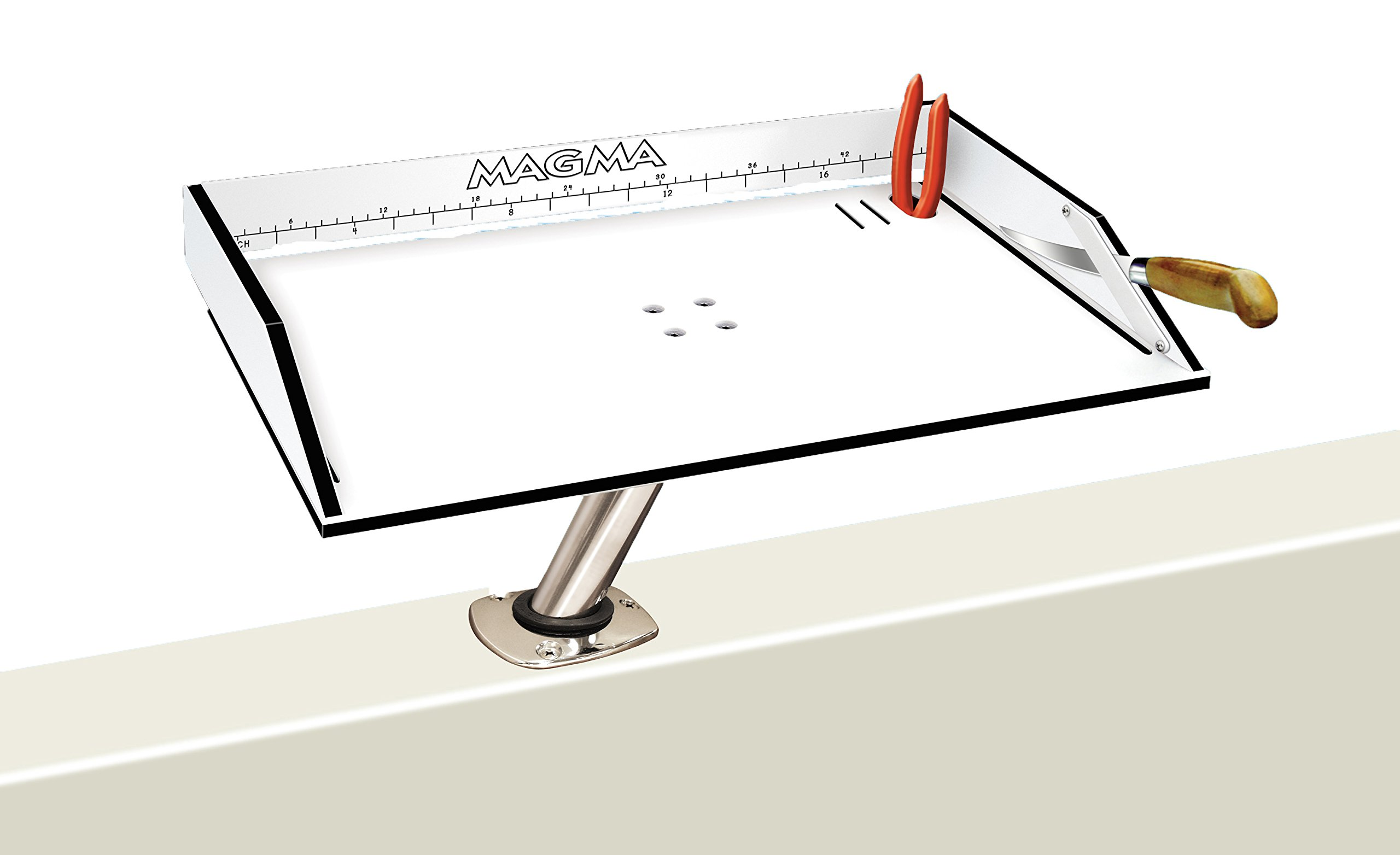 Magma Products, T10-302B Bait / Filet Mate Table, 20 Inch x 12-3 / 4 inch by Magma Products, Inc.
