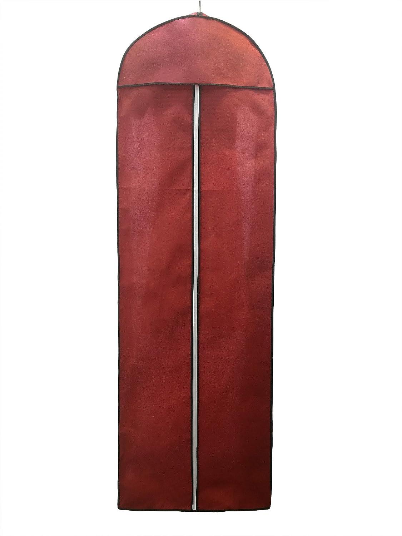 TUKA [5st. Atmungsaktiver Kleidersack 180cm, Schutzhülle Schutzhülle Schutzhülle für Brautkleider Abendkleider   Anzüge Mäntel, Langer Reissverschluss - Weiß + Schwarz Rahme - Schwarz, TKB1005 schwarz-5x B077P67G38 Schlafzimmer a687df