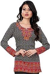 Women Fashion Casual Short Indian Kurti Tunic Kurta Top Shirt Dress 73B