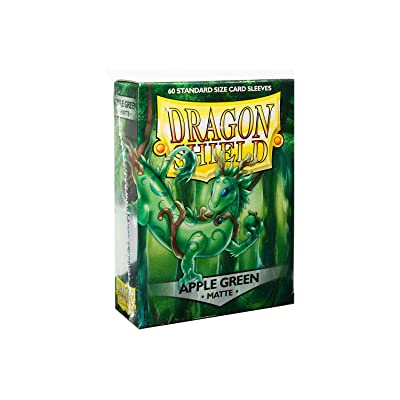 Arcane Tinman Sleeves: Dragon Shield Matte Apple Green (60), One Size: Toys & Games