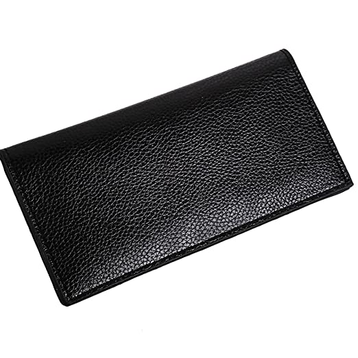 a561e1141f16 Connoworld - Classic Soft Faux Leather Ultra-Thin Men Long Wallet ...