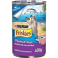 Friskies Purina Mackerel Feast Cat Wet Food 400g(Pack of 1)