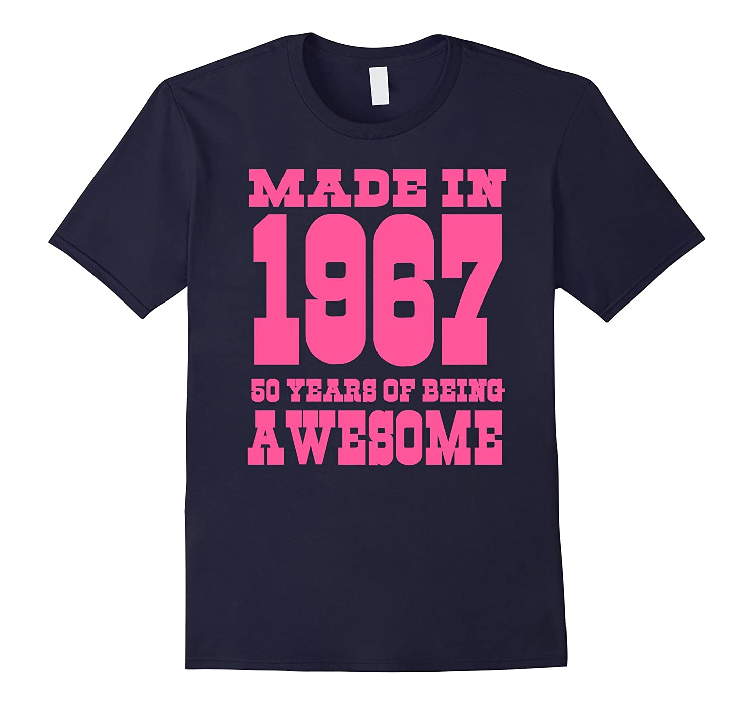 50th Birthday Gift Idea 50 Year Old Boy Girl Shirt 1967 TH