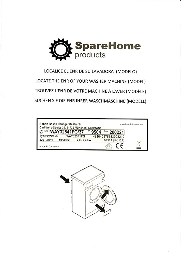 Amortiguadores para lavadoras Bosch, Siemens, Balay y Neff: Amazon ...