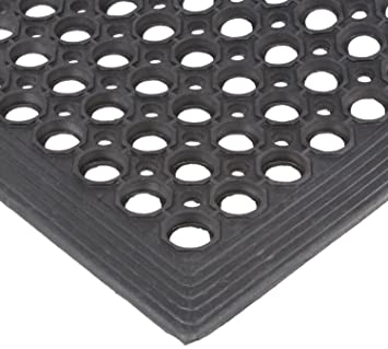 Rubber Ring Mat.Electriduct Rubber Ring Safety Mat 3x5 Ft Anti Slip 1 2 Rubber Anti Fatigue Drainage System