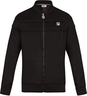 ba3e2c75ec Fila Vintage Men's naso Chest Stripe Track Jacket, ...
