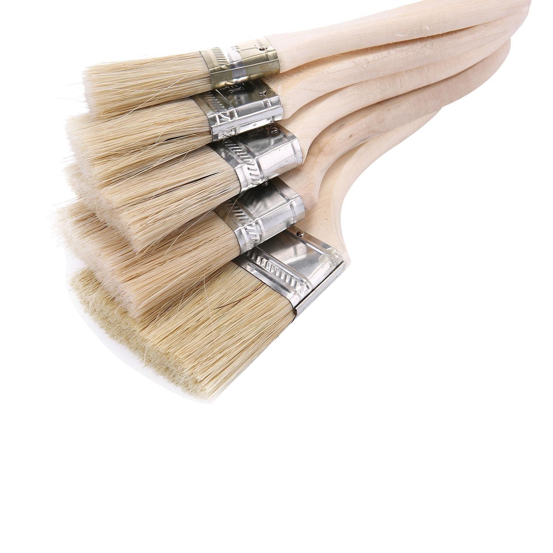 Rullo 22,1/cm KOBWA Premium Kit di pennelli pennelli Manico in Legno Leggero di 7,6/cm 6,3/cm 5,1/cm 3,8/cm 2,5/cm Roller