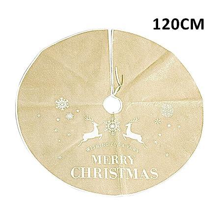 Delantal de árbol de Navidad, falda de árbol de Navidad ...