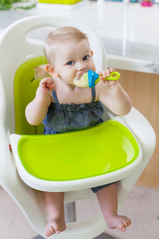 New B11179 BOON Pulp Silicone Feeder Months Green//Blue Kids Childrens Toy 6