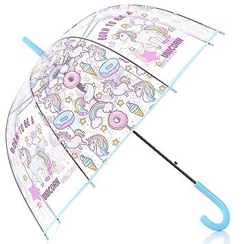SLONG Unicornio Nueva Paraguas de la protección del ...
