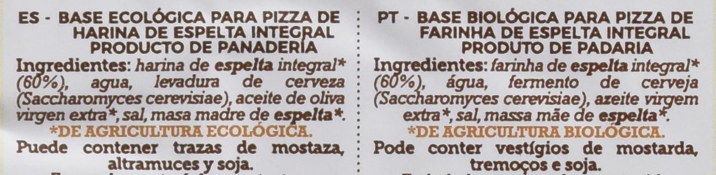 La Finestra Sul Cielo Dos Bases de Pizza Elaboradas - 5 Paquetes ...