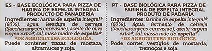 La Finestra Sul Cielo Dos Bases de Pizza Elaboradas - 5 Paquetes de 300 gr - Total: 1500 gr: Amazon.es: Alimentación y bebidas