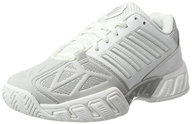Chaussures de Tennis K Swiss Men Bigshot Light LTR White Black Silver-Taille 42 5IDmCXm
