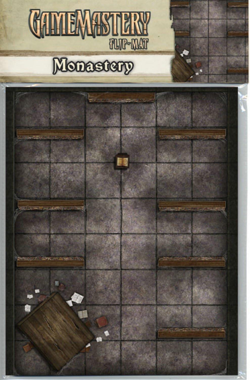 GameMastery Flip-Mat: Monastery: Engle, Jason A., Staff, Paizo: Amazon.es: Juguetes y juegos
