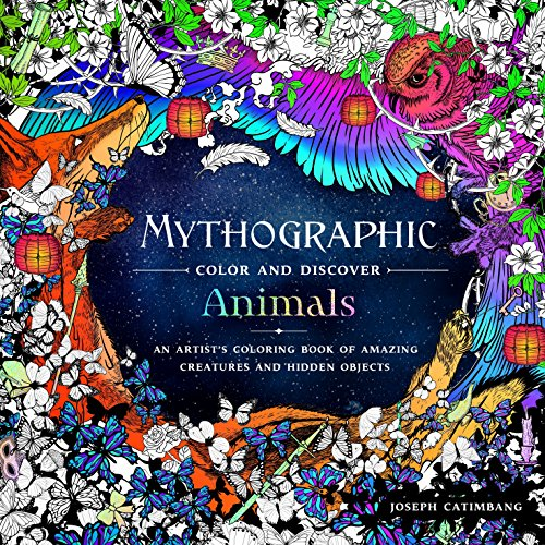 Compare price animal colors on Mythographic animals coloring book