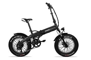 Momo Bici Pieghevole Md E20ff W Malibu 20 Unisex Adulto Black