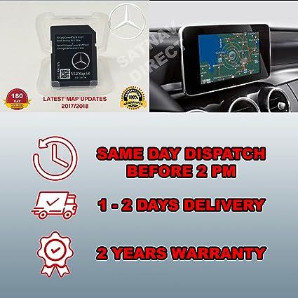 2015 2016 2017 Mercedes GLC C C300 C350 Sedan E250 E350 E400 E550 E63  E-Class Garmin SD Map Pilot Ver 5 2/ Map 5 0 A2139062704
