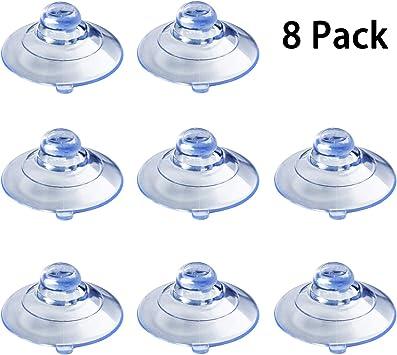 Clear Suction Cups for Beltronics Escort and Cobra Radar Detectors 6 Pcs