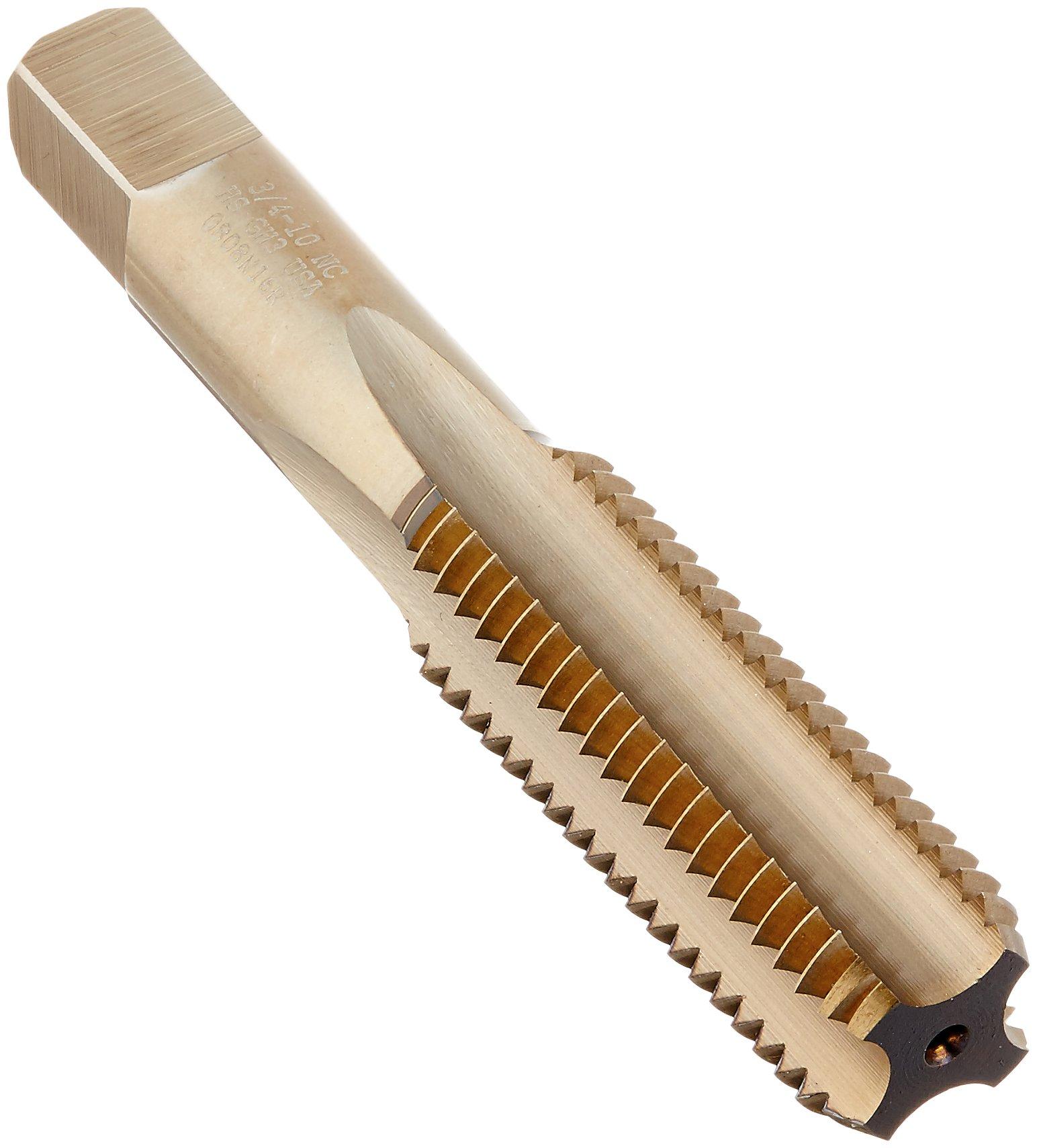 Triumph Twist Drill 71114 3/4-10 NC T61HDB High Speed Steel Bottom Tap Thundertap Bronze Oxide Coated by Triumph Twist Drill