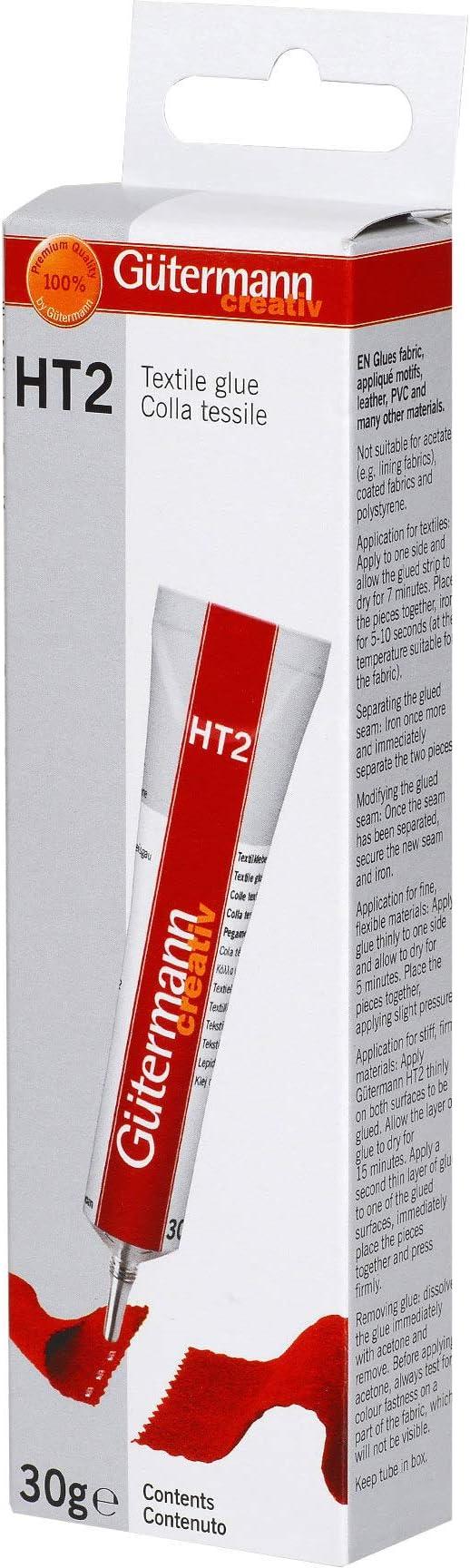 Glue Gutermann Textile Ht2 Tube 30g Fabric Factory Solvent Creativ Original