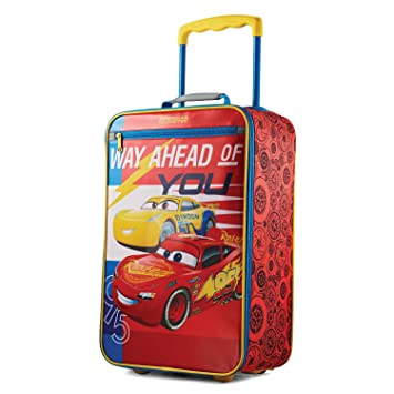 American Tourister Kids Softside 18quot Upright Disney Cars