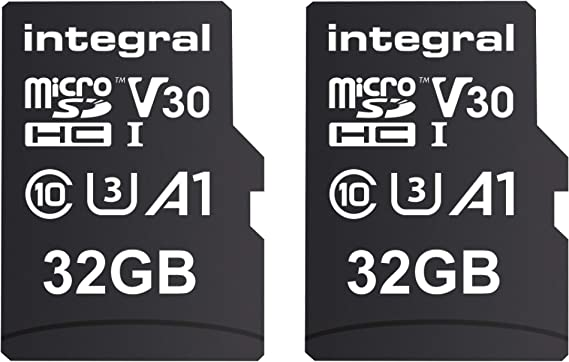 Integral 32gb Micro Sd Card With 12 Slots 4k Ultra Hd Computers Accessories