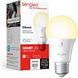 Sengled Smart Light Bulb, Bluetooth Mesh Smart Bulb That Works with Alexa Only, Dimmable LED, 800LM, Soft White 2700K, 8…