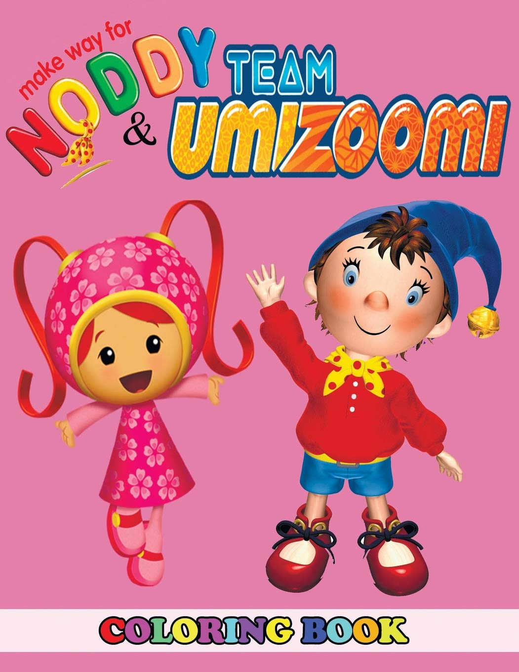 Amazon.com: Make Way for Noddy and Team Umizoomi Coloring ...