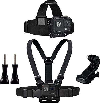 Sametop Banda Kit de Arnés Chest Mount Harness Ajustable Arnés del ...
