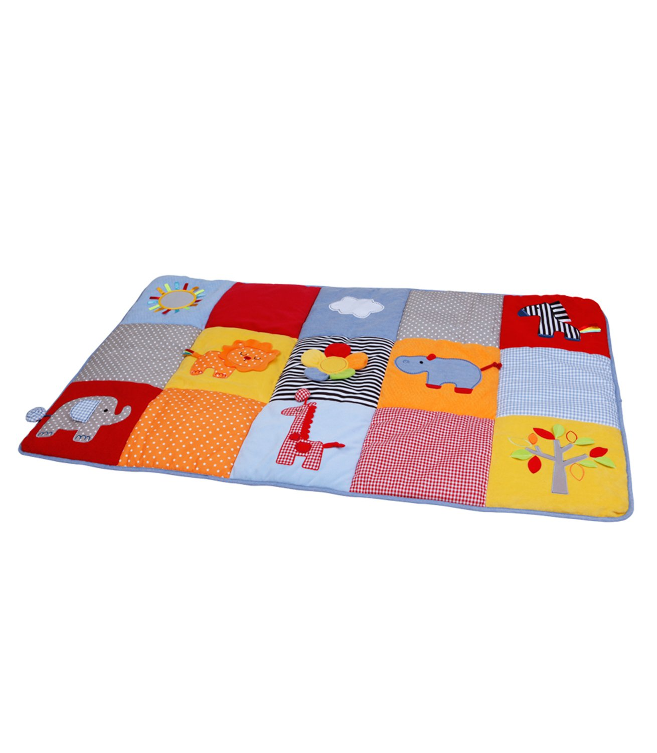 Sunny Safari Jumbo Super Cushioned Padded Playmat Play