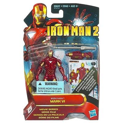 Hasbro Iron Man 2 Movie Mark VI Iron Man Action Figure: Toys & Games