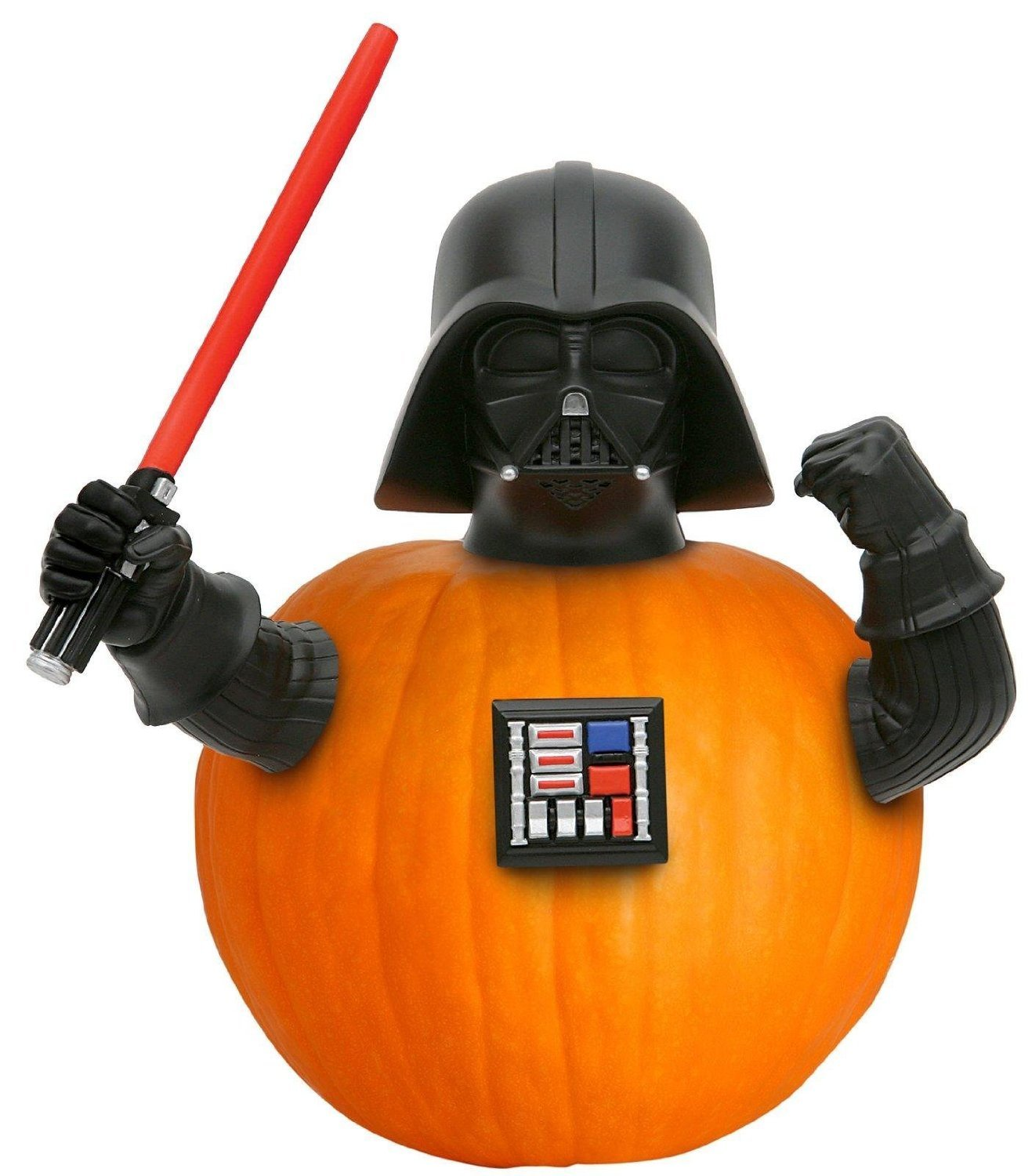 amazoncom star wars darth vader halloween pumpkin push ins outdoor decor patio lawn garden - Halloween Darth Vader