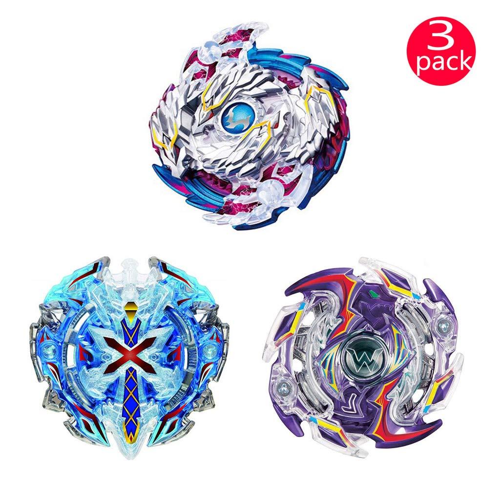 QFSM Beyblade Burst - Lernspielzeug - 3 X Kreisel Kämpfen Kombination ( 3 Kreisel + 3 Werfer ) --b97+b67+b41